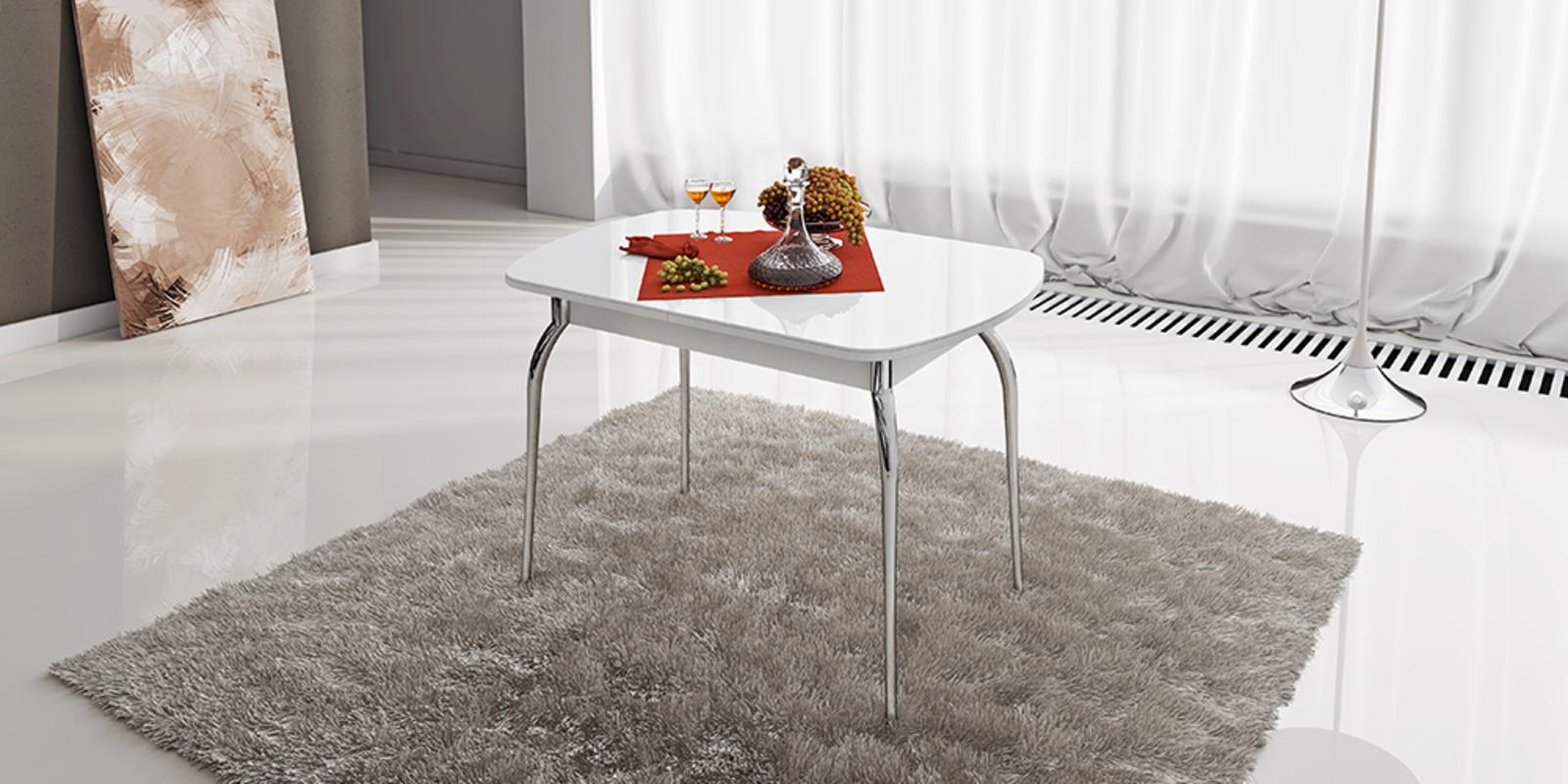 Стол обеденный Квартет (белый) от HomeMe.ru
