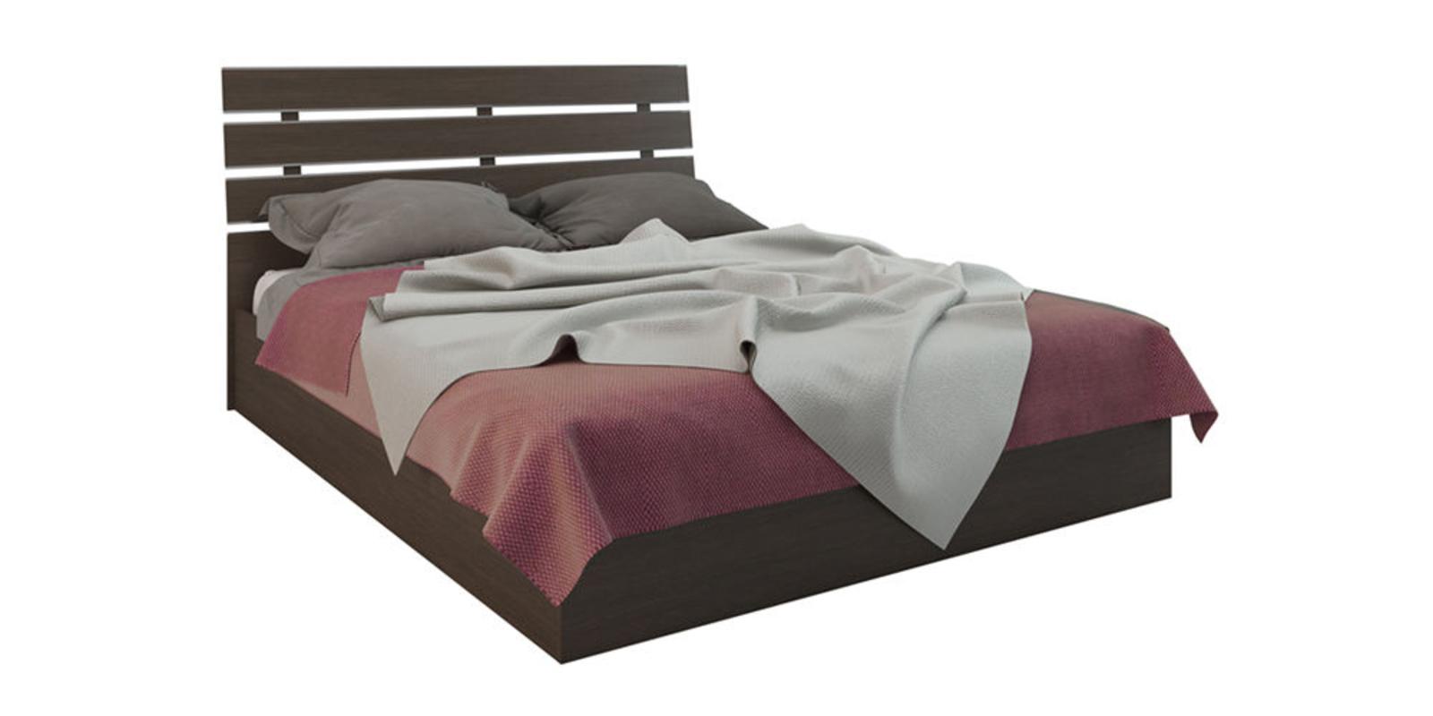 Кровать каркасная Калгари с подъемным механизмом (Дуб Кастано)
