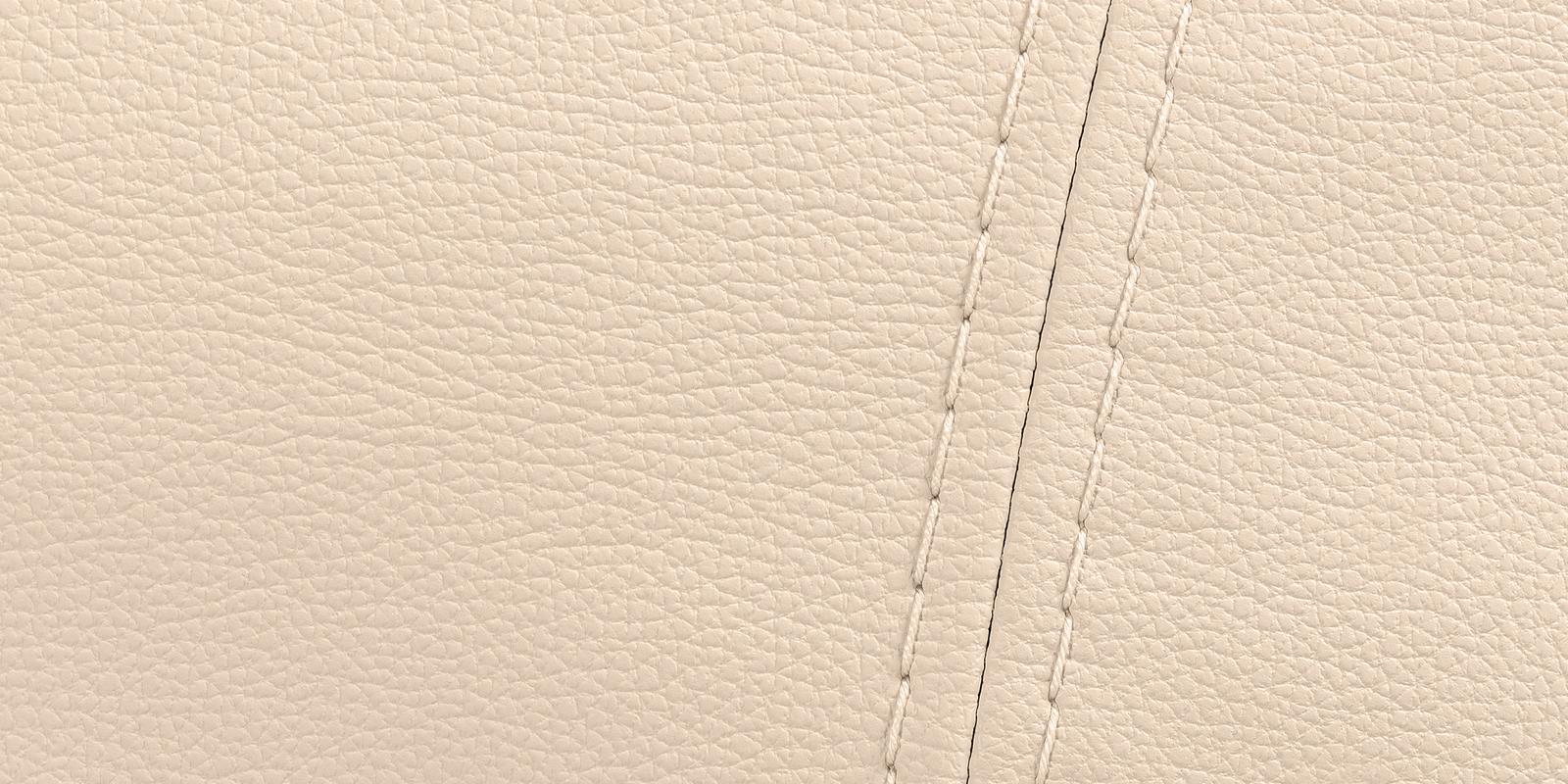 Диван кожаный угловой Бристоль Бежевый (Натуральная кожа, левый) от HomeMe.ru