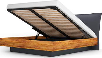 Кровать-2 с подъем. орт.осн.1400  Вега Бавария