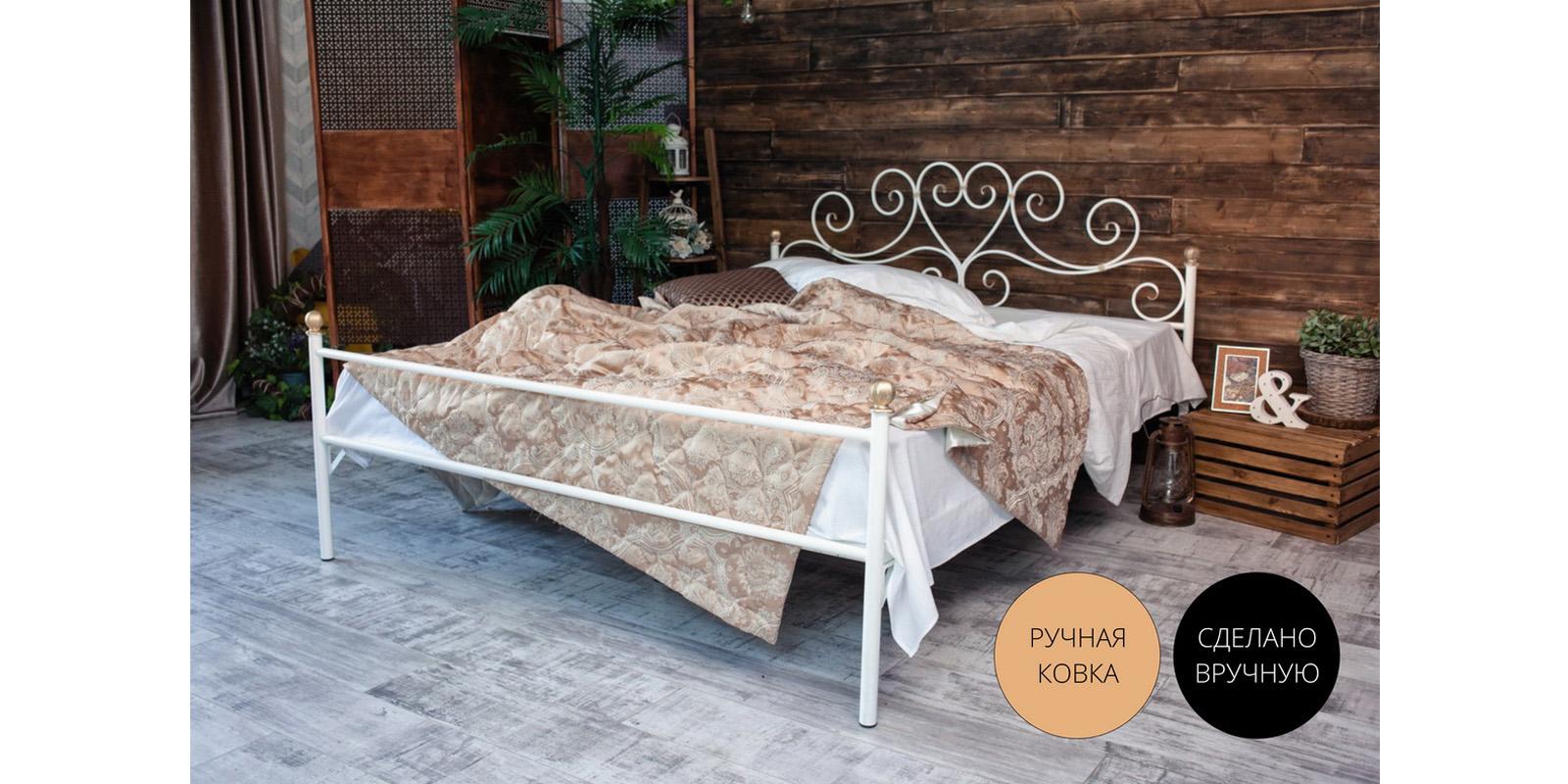 Металлическая кровать 160х200 Кармен
