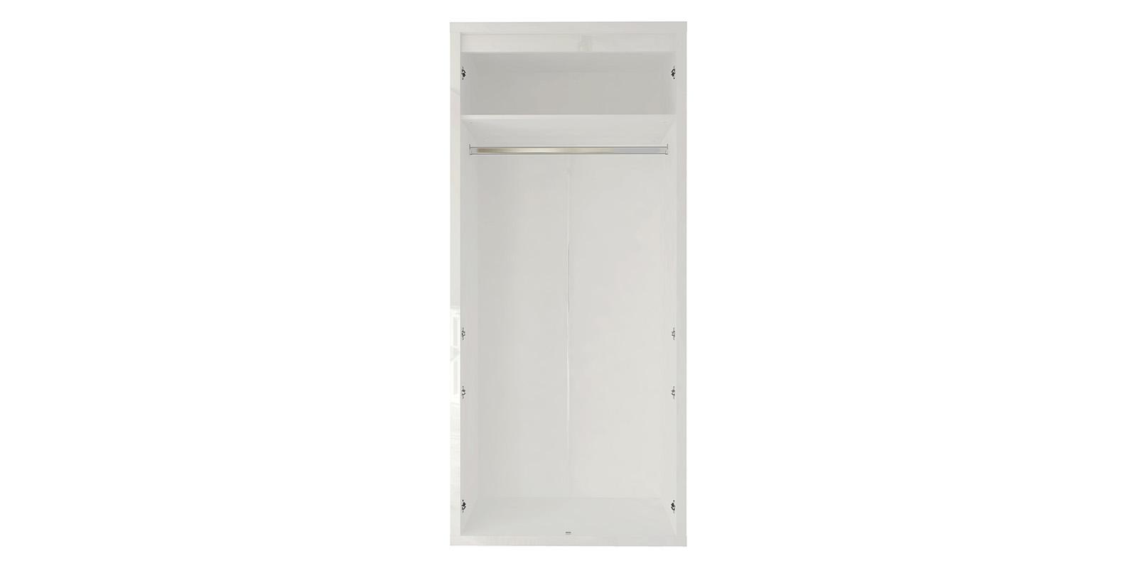 Шкаф распашной двухдверный Сальвадор (белый)