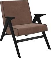 Кресло для отдыха Вест Венге, ткань Verona Brown, кант Verona Wenge